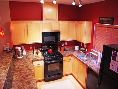 Enjoy cooking in the fully equipped kitchen