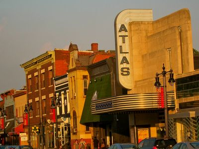 The Atlas District, 6.5 blocks away on H St. TONS of great places to eat!!
