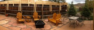 Crested Butte cottage photo - Firepit patio area