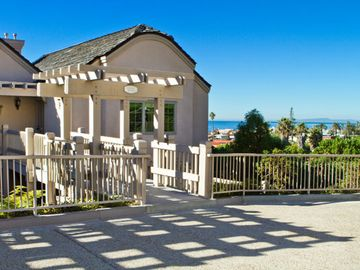 Balcony with Ocean View on the Upper Units at the Villa L'Auberge