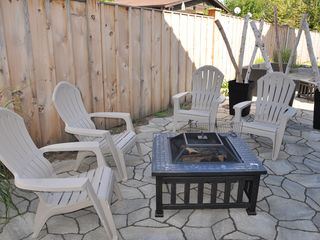 Grand Bend house photo - Patio with fire pit