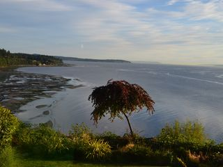 Bainbridge Island house photo - view from deck off the master bedroom