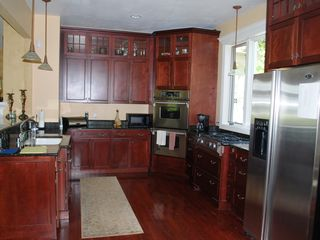 Oconomowoc house photo - Fully stocked gourmet kitchen features everything you need!