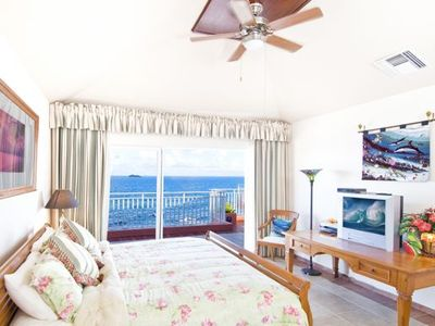 Dawn Beach villa rental - Suite 3 - Ceiling fans in all suites