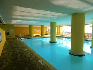Grand Atlantic condo photo - INDOOR POOL AND HOT TUB