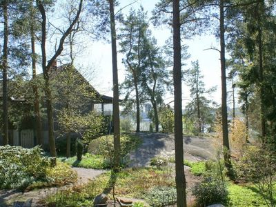 2000 sqm garden in Woodland style on 30 Meters above sea level. Jogging tracks.