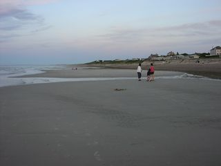 East Sandwich house photo - Low tide with sandbars is amazing for walking, using skim boards and more