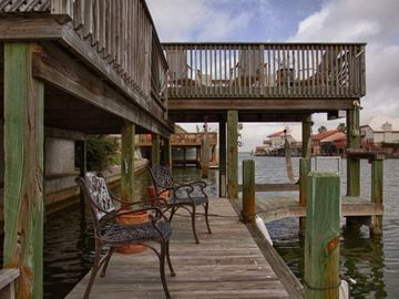 View toward Laguna Madre from lower deck - Jason Page Photo