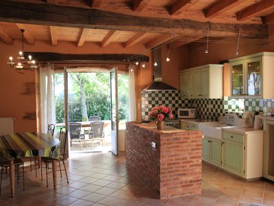 Charming stone gite, south-east of Landes in countryside, peace and relaxation