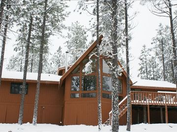 Forest Lakes cabin rental - Winter
