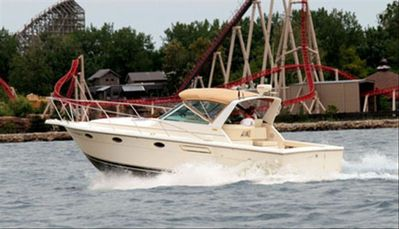 Charter this boat Includes The Captain 440-315-3479 fishing island touring!!