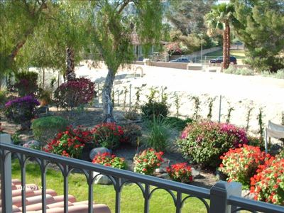 Palm Springs condo rental - Greenway view, master BR patio