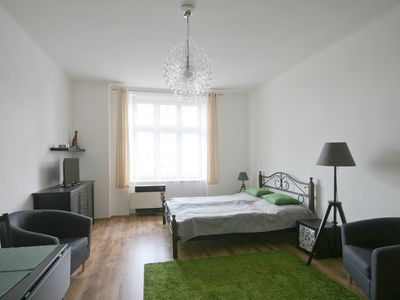 """Apartment in the only """"high-rise building"""" in Pilsen"""