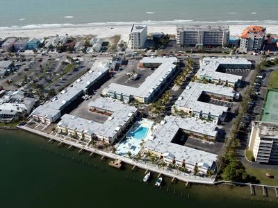 Aerial View of Barefoot Beach