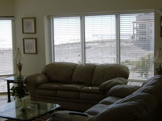 Pensacola Beach condo photo - Living Room with Panoramic view