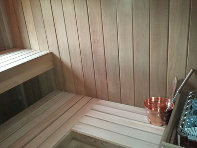 Warren house rental - Sauna