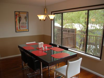 Hollywood house rental - Dining room...second angle
