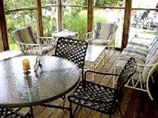South Bethany Beach house photo - Screened Porch for dining, relaxing, sunset views