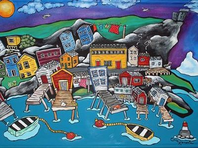 Most easterly guesthouse in North America Artists often paint the iconic setting
