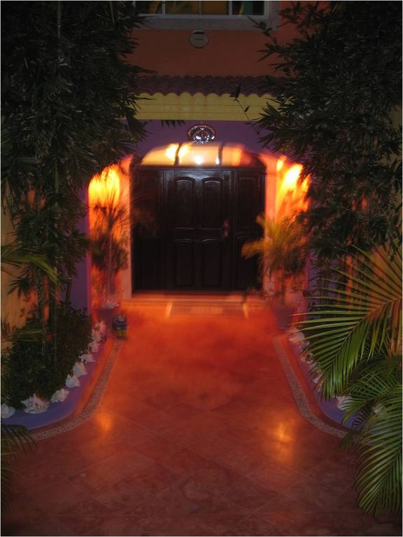Night time Entryway