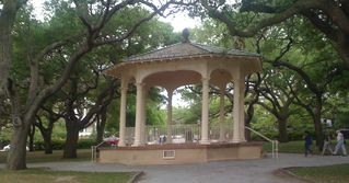 "Charleston house photo - This is the gazebo at ""The Battery"""