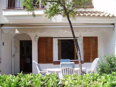 La Manga Strip apartment rental - Garden and patio - 3 bedroom house (56)