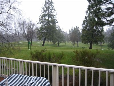 View from rear deck, 16th tee of Pine Mountain Lake Golf Course
