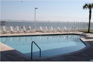Second pool has some shade during the day! - Folly Beach condo vacation rental photo
