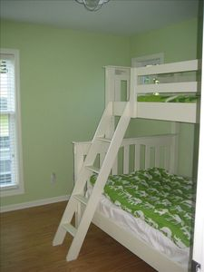 Bunkbed in Kids Rooms Second Floor