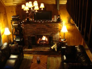 Loft view - North Conway chalet vacation rental photo