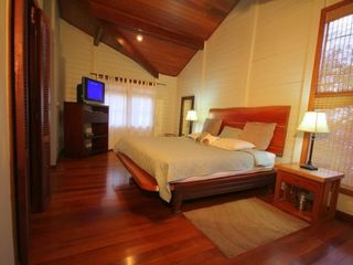 Bahia Gigante villa photo - Master bedroom with king bed and attached full bath