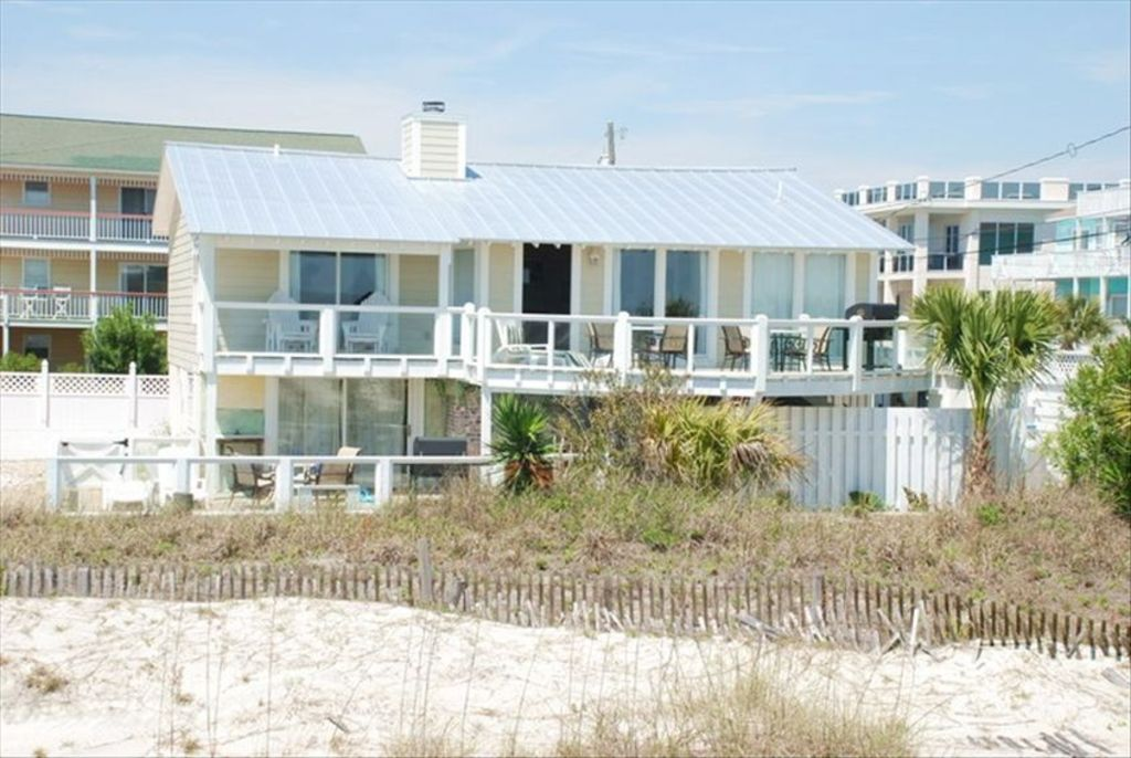 tybee beach oceanfront cottage with hot tub vrbo