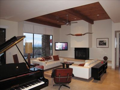 Watch TV and tickle the ivories at the same time