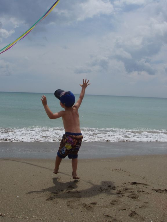 Kite Flying - Ocean Village Beach