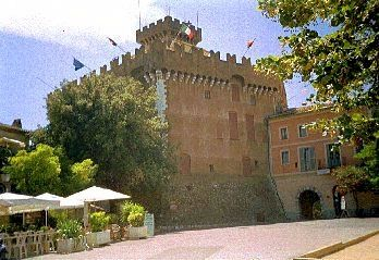 The 13th century Grimaldi castle of Haut de Cagnes