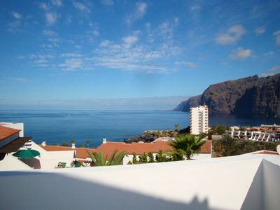 Los Gigantes villa rental - Rear Patio View