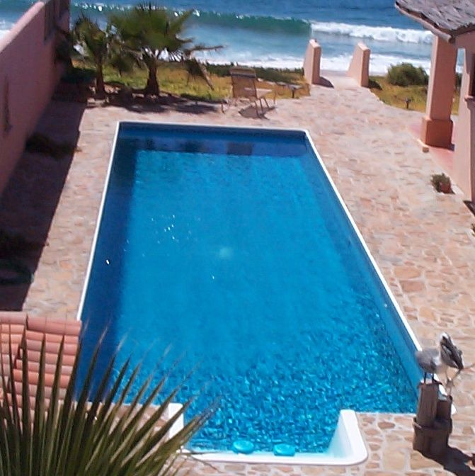 Romantic Beachfront Retreat with Lap Pool, Near Todos Santos - No Booking Fees