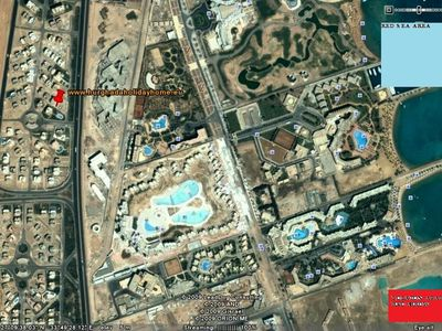 Hurghada apartment rental - Location red arrow