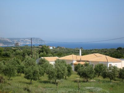 Karavados villa rental - View to sea