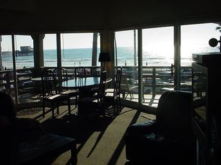 Newport Beach condo photo - view from great room up