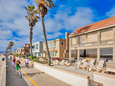 Enjoy gorgeous Mission Beach from your patio and the convenience of direct access to the boardwalk and beach just steps from your door.