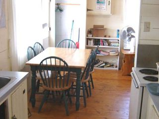 Mahone Bay property rental photo - The kitchen and eating area
