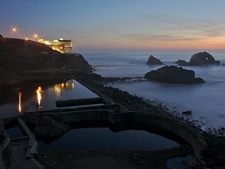 San Francisco apartment photo - Sutro Ruins and Cliff House at the end of the street