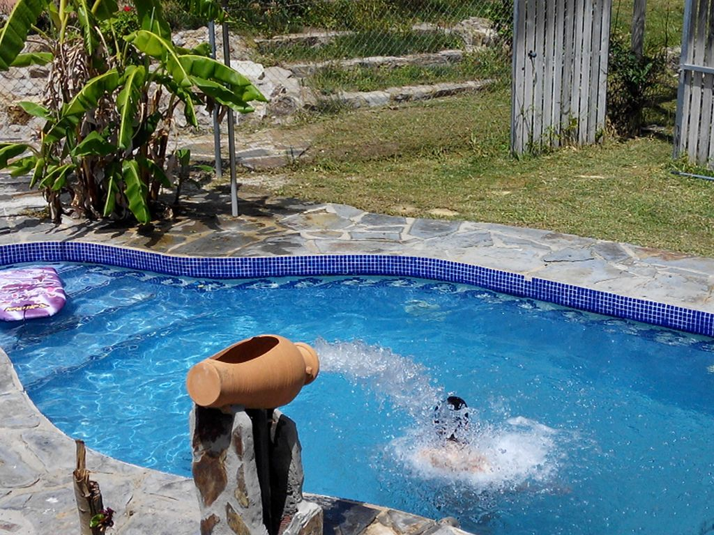 House With Swimming Pool Water Cannon Massage Homeaway Conil De La Frontera