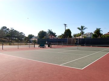 Public Tennis Courts 3 blocks from property