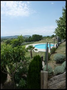 Lodging in restored farmhouse, overlooking Mont Ventoux, Drôme Provençale