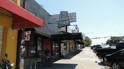 The legendary Continental Club is in the Hood!