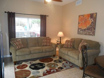 Venetian Bay townhome rental - NEW couch and love seat!