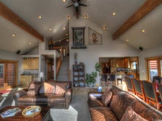 Estes Park house photo - Great Room and loft area