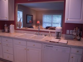 Fully furnished kitchen - Petoskey condo vacation rental photo